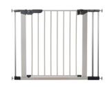 Baby Dan 60117-2693-02-85 Premier Tür / Treppenschutzgitter zum Einklemmen, 73.5 - 99.8 cm, silber / schwarz -