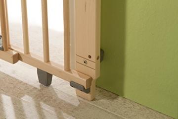Geuther 2732 Schwenk-Türschutzgitter, 60 - 109cm, weiß -