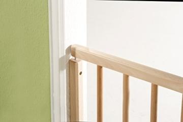 Geuther 2733 Schwenk-Treppenschutzgitter, 70 - 111cm, weiß -