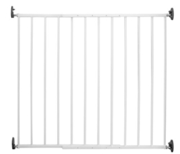 Reer 46101 Tür-und Treppengitter, Simple-Lock, Metall -