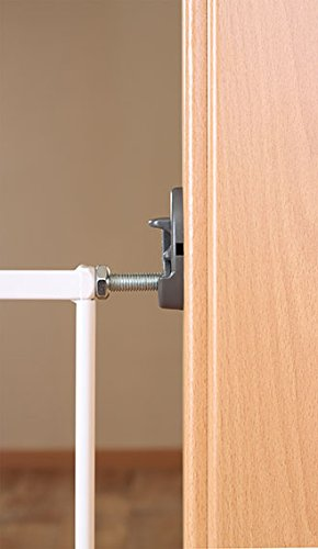 Reer 46101 Tür-und Treppengitter, Simple-Lock, Metall -
