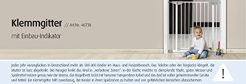 Reer 46730 Tür / Klemmgitter mit Einbau-Indikator -
