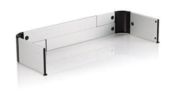 reer Herdschutzgitter DesignLine zum Kleben, größenverstellbar, für Gasherd geeignet - 2